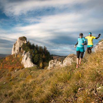 Podzimní běh u Vršateckého bradla