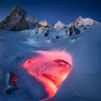Kúsok tepla v chladných horách.